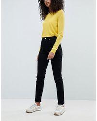 Weekday - Way High Waist Slim Leg Jeans - Lyst