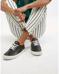 45e6c19ce05e7 Lyst - Keds Champion Canvas White Plimsoll Shoes in White