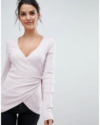 Ivyrevel - Wrap Front Top With Tie - Lyst