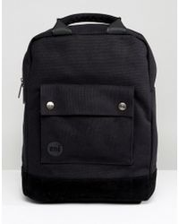 Mi-Pac - Tote Backpack In Black - Lyst