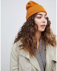 Weekday - Knitted Beanie Hat - Lyst