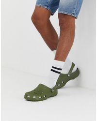 Crocs™ - Classic Shoes In Khaki - Lyst