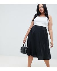 AX Paris - Black Flippy Skirt - Lyst