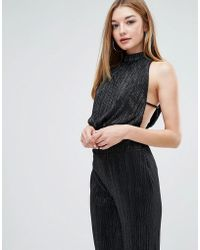 Love - Pleated Tie Back Top - Lyst