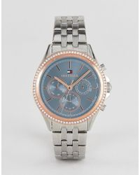 Tommy Hilfiger - Ari Bracelet Watch In Silver 40mm - Lyst