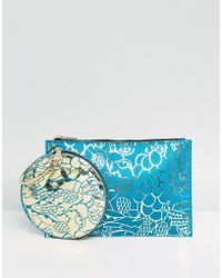 ASOS - X Mary Benson Doubled Up Clutch Bag - Lyst