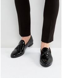 House Of Hounds - Arthur Patent Loafers In Black - Lyst