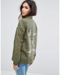 Vero Moda - Military Jacket - Lyst