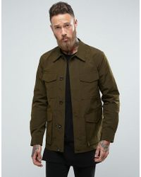PS by Paul Smith - Field Jacket In Khaki - Lyst