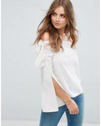 Cotton Candy - Off Shoulder Top - Lyst