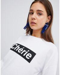 New Look - Cherie Sweatshirt - Lyst