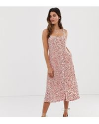 Capulet - Sunny Midi Dress With Button Front - Lyst