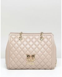 Love Moschino - Quilted Logo Bag - Lyst