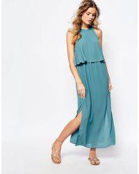 Darccy - Frill Layered Maxi Dress - Lyst