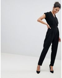 Closet - Wardrobe Tailored Jumpsuit - Lyst