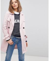 Esprit - Trench Coat - Lyst