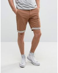 Another Influence - Aztec Turn Up Chino Shorts - Lyst