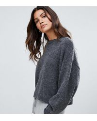 add5bcef2f Micha Lounge - Luxe Boxy Sweater In Mohair Blend - Lyst