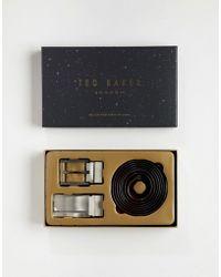 Ted Baker - Burrgs 4-way Reversible Belt Gift Box - Lyst