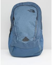 The North Face - Vault Backpack In Blue - Lyst