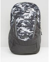 The North Face - Vault Backpack In Black Camo - Black - Lyst