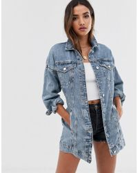 attractive price new high quality new cheap Longue veste en jean