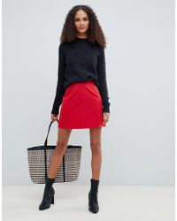 ASOS - Tailored A-line Mini Skirt - Lyst