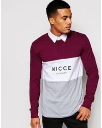 Nicce London - Nicce Triple Manor Rugby - Lyst