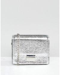 Pull&Bear - Cross Body Metallic Bag - Lyst