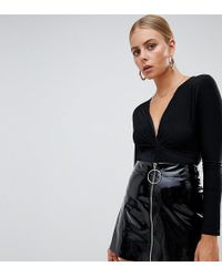 Missguided Slinky Plunge Body