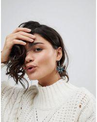 Ashiana - Drop Star Earrings - Lyst
