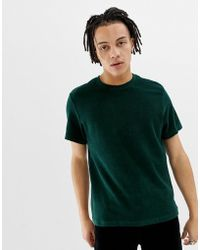 Weekday - Towel T-shirt In Green - Lyst