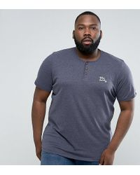 Tokyo Laundry - Plus Henley Marl T-shirt - Lyst