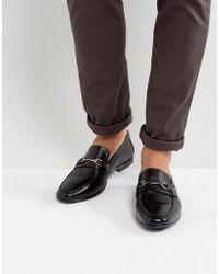 KG by Kurt Geiger Kg By Kurt Geiger Melton Loafers In Black Leather