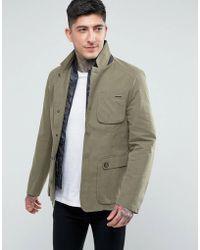 Parka London - Blazer With Detachable Insert - Lyst