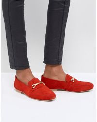 ASOS - Asos Movement Leather Loafers - Lyst