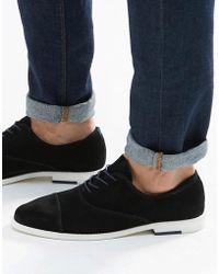ALDO - Caliva Suede Oxford Toecap Shoes - Lyst