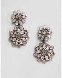 ALDO | Statement Floral Chandelier Earrings | Lyst