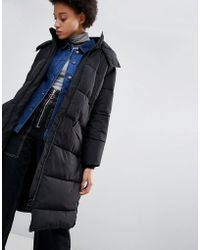 Parka London - Amelia Long Quilted Coat - Lyst