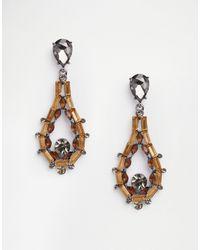 Nali - Topaz Drop Earrings - Lyst