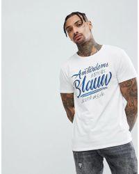Scotch & Soda - Heritage T-shirt - Lyst