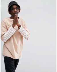 ASOS - Oversized T-shirt With Crew Neck - Lyst