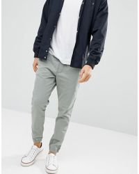 Esprit - Slim Fit Woven Jogger With Cuff - Lyst