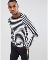 Produkt - Long Sleeve Striped Top - Lyst