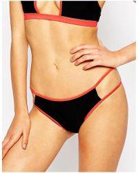 Oh My Love - Cut Out Bikini Bottom - Lyst