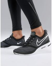 ... 0839b 818a0 Nike - Zoom Strike Trainers In Black Aj0189-001 - Lyst  competitive price ... 1a196bd76a