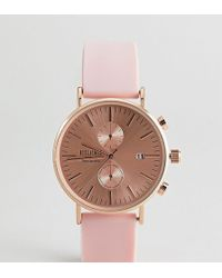 Reclaimed (vintage) - Inspired Silicone Watch In Pink 36mm Exclusive To Asos - Lyst