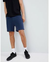 Another Influence - Basic Peached Jersey Shorts - Lyst