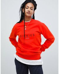 Dickies - Relaxed Sweatshirt With Embroidered Front Logo - Lyst