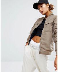 Daisy Street | Bomber Jacket With Pockets | Lyst